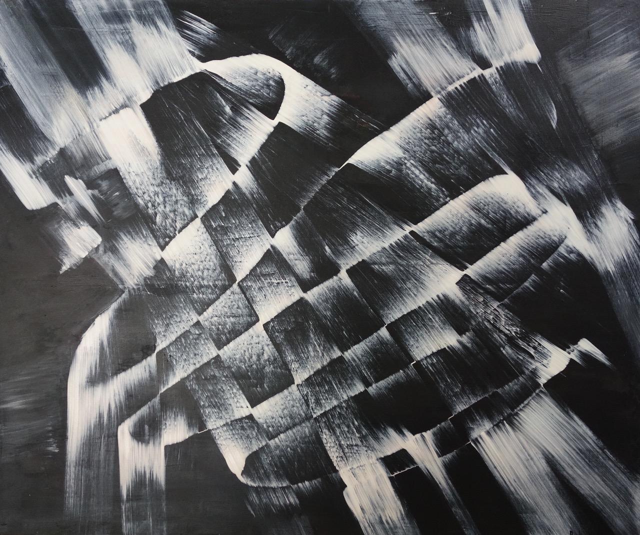 retro, 100/120 cm, 2014, akryl na plátně