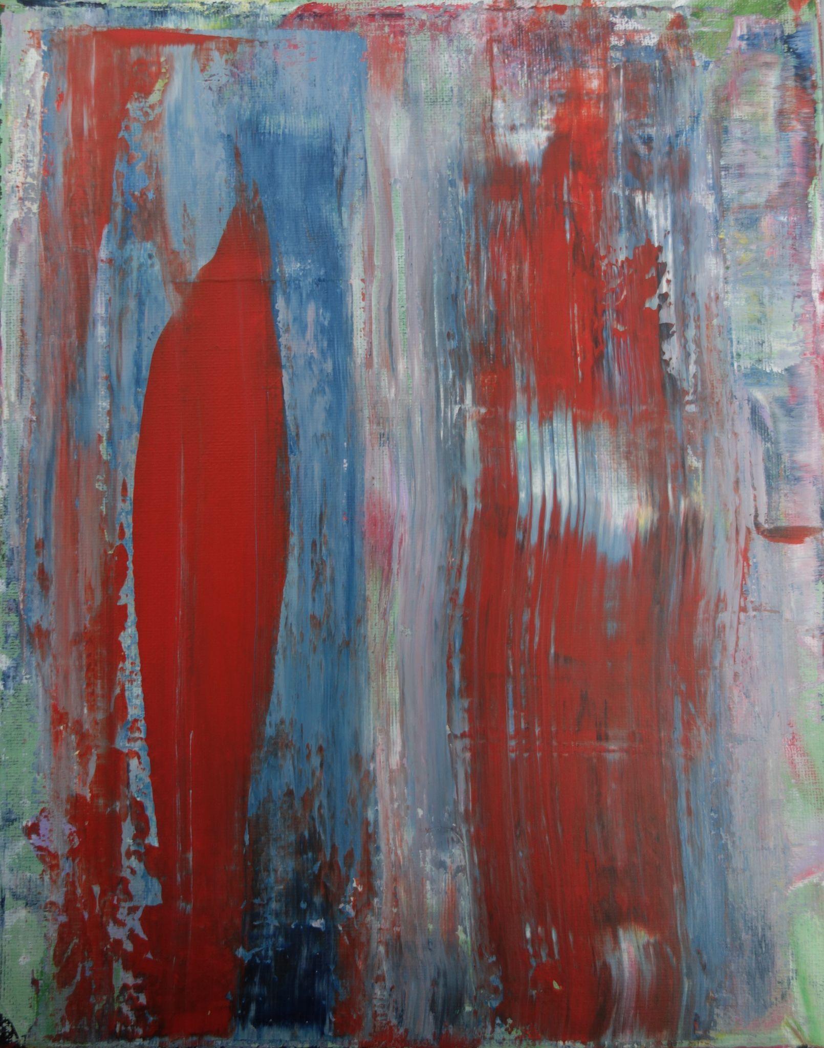 30/24 cm, 2015, akryl na plátně