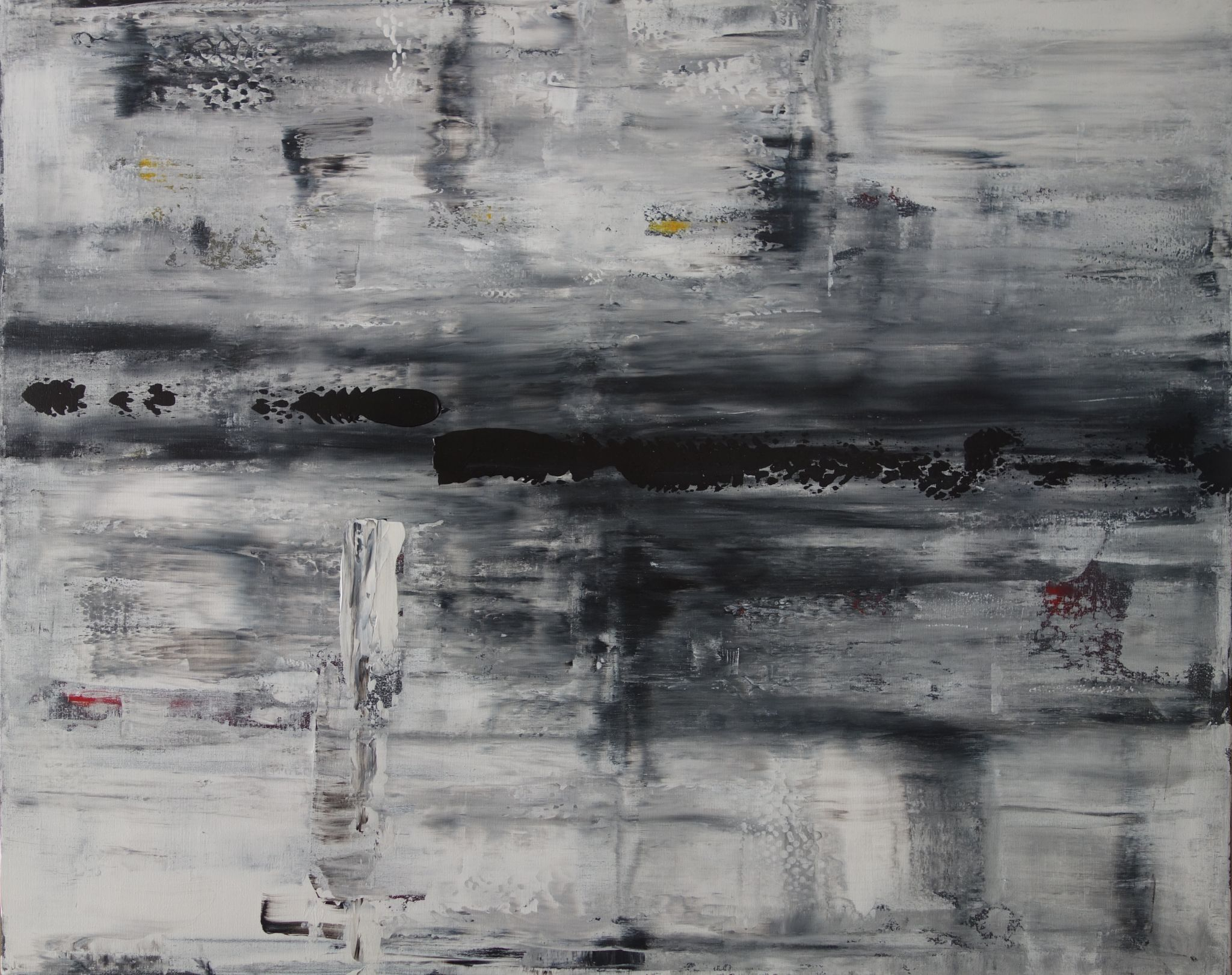 horko, 100/120 cm, 2014, akryl na plátně
