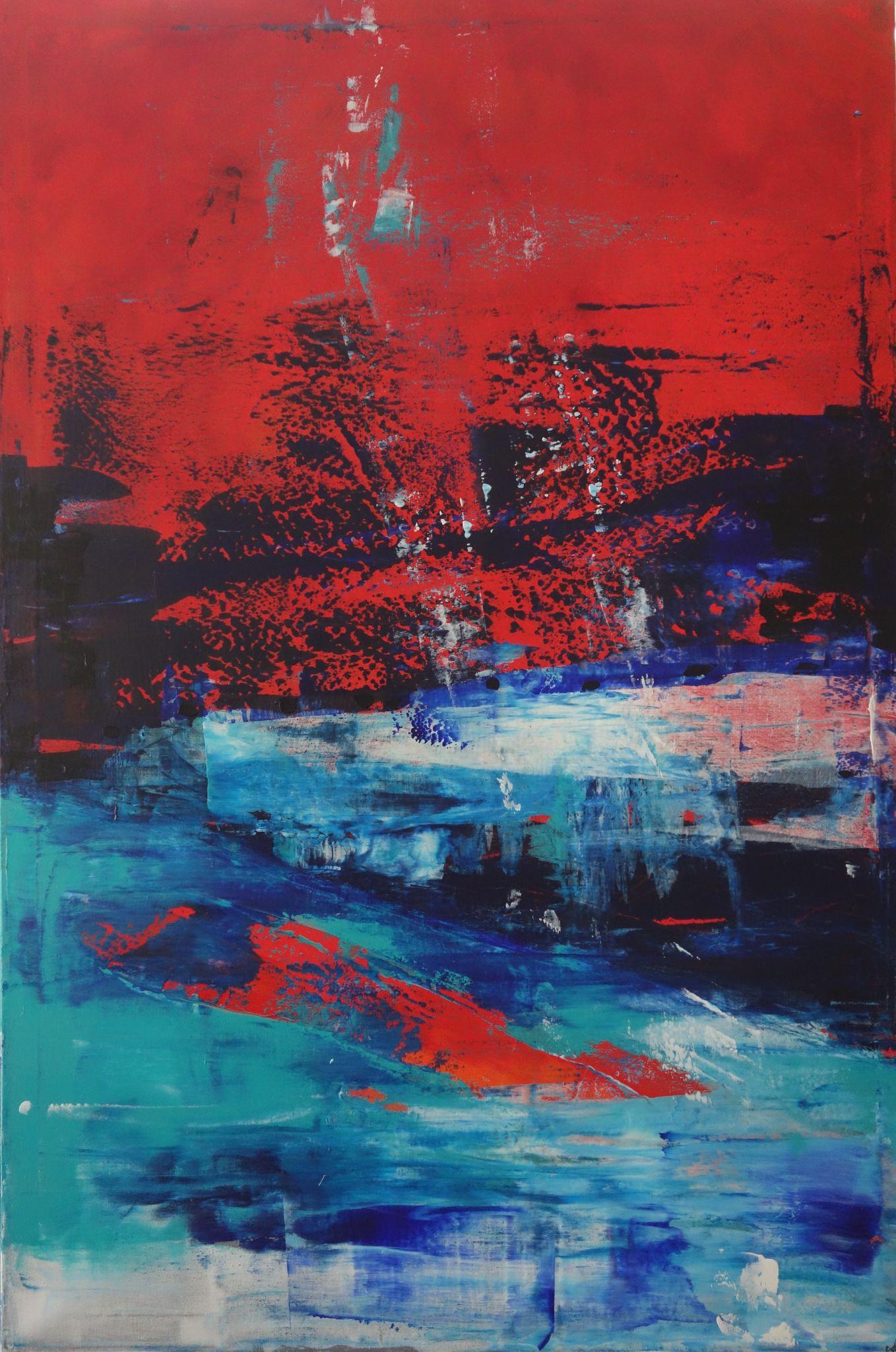 ponor, 150 /100 cm, 2014, akryl na plátně