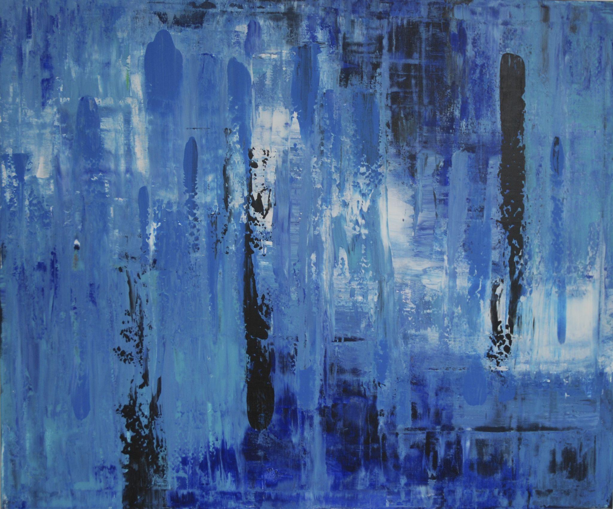 frozen, 100/120 cm, 2014, akryl na plátně