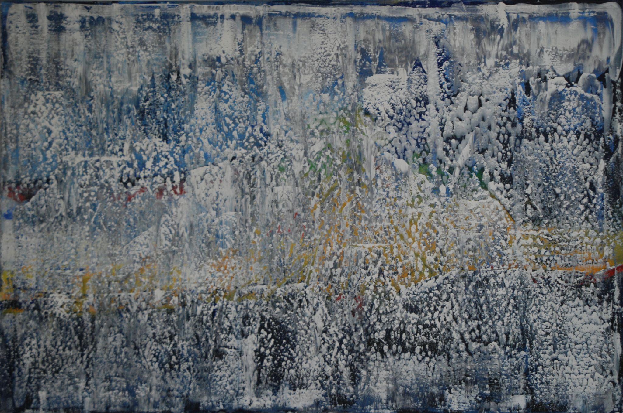 tajemství, 100/150 cm, 2014, akryl na plátně