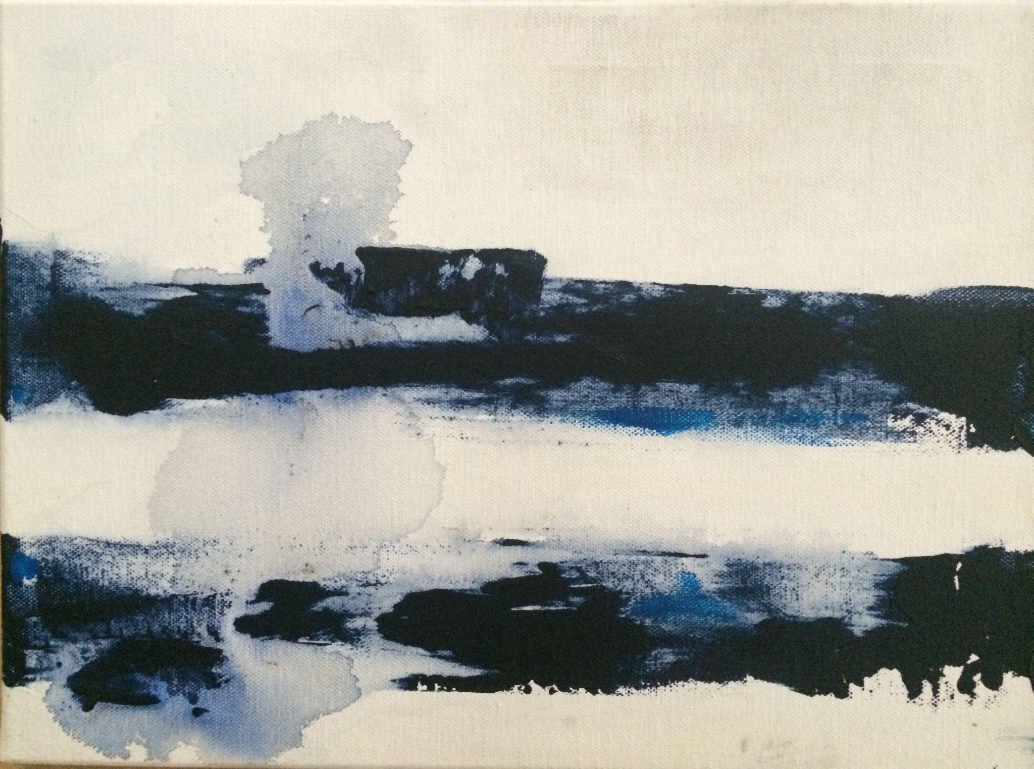 30/50 cm, akryl na plátně