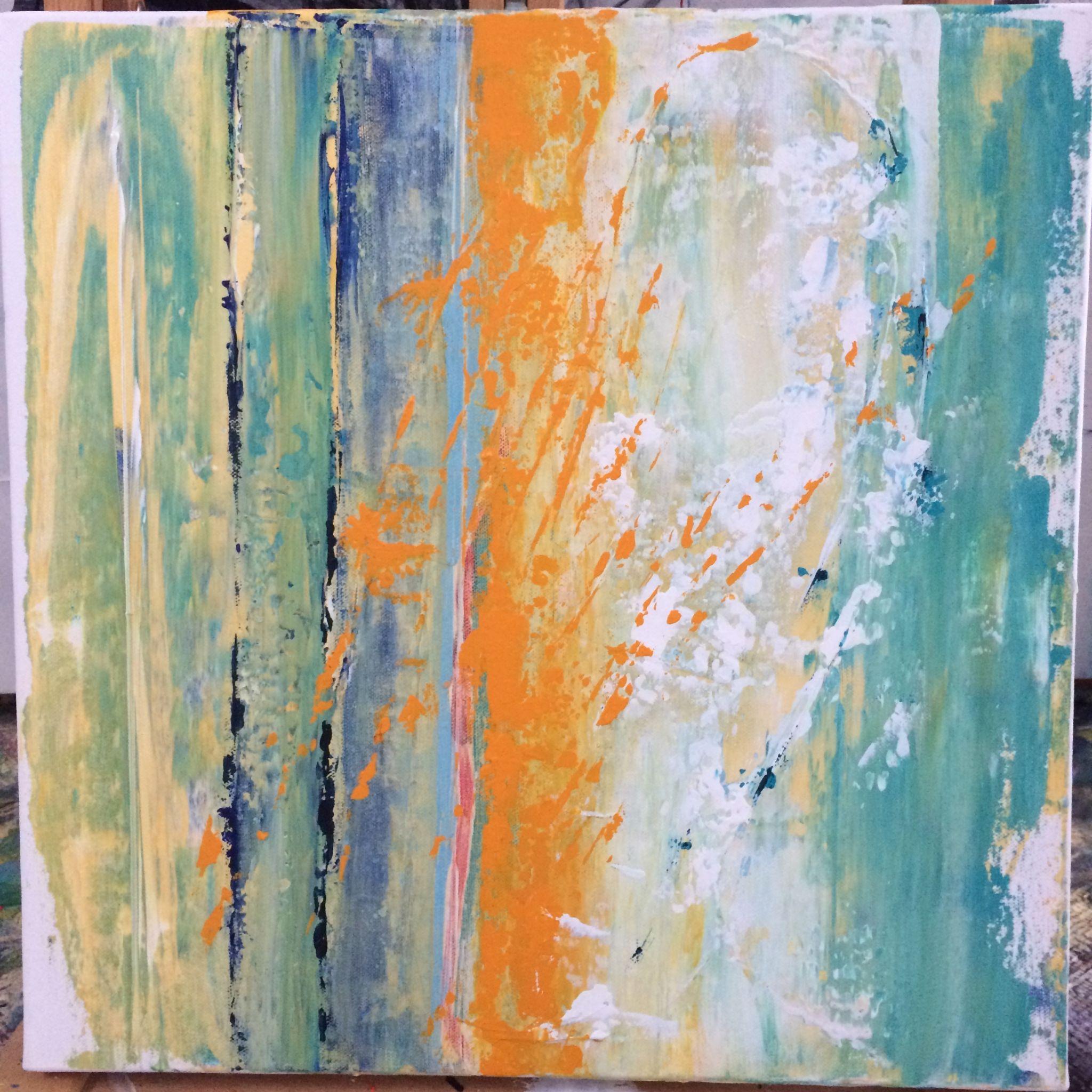 pyl, 50/50 cm, 2016, akryl na plátně